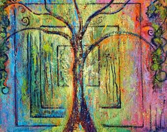 The Spirit Tree- Tree Art