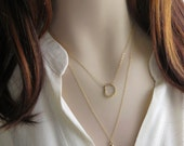 Italian Horn Necklace • Good Luck Charm• Italy Horn • Amulet • Italian Good Luck Charm • Layering Necklace • Layered • Amulet Necklace