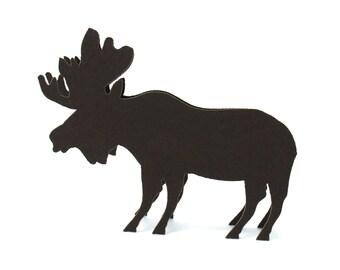 Moose Place Cards set of 10 - Escort Cards,Wedding Place Cards,Woodland,Wedding Seating Card,Forest,Rustic Wedding,Reception Cards,Bridal