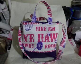 Cute Western Hobo/Crossbody/Handbag/Purse/Adjustable Strap