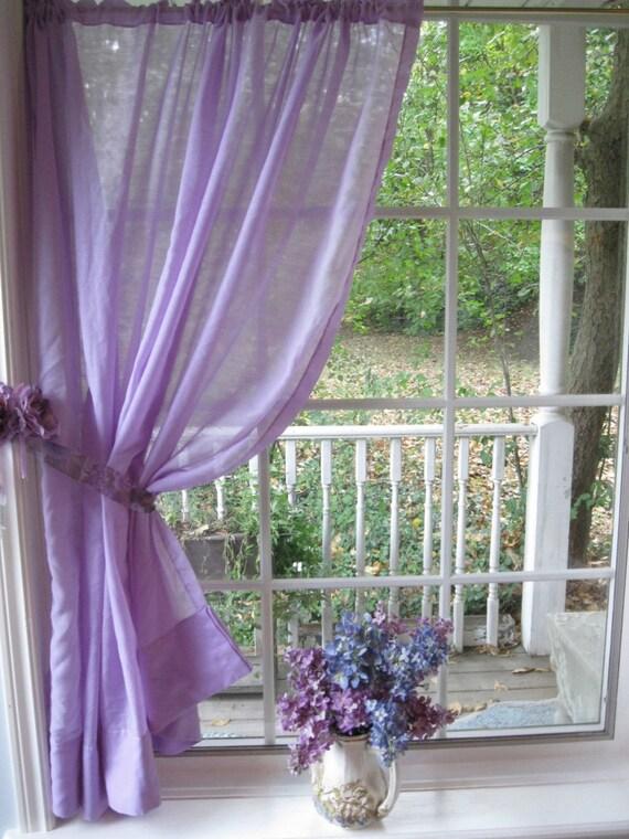 Vorhang lavendel vorhang transparent fenster von - Vorhang englisch ...