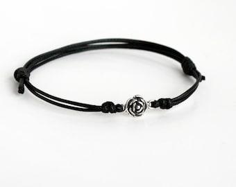 Little Rose Bracelet / Rose Anklet (Many color to choose)