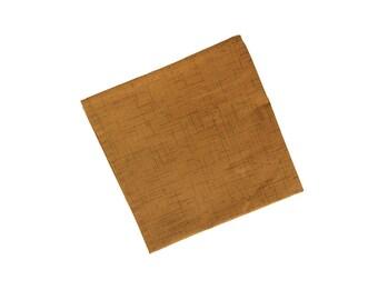 Ryo - Camel Brown Pocket Square