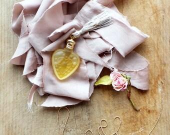 Perfume Bottle - Ex Voto - Choose your scent - Heart 4ml