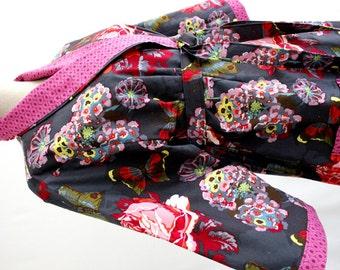 Shawl Collar Style Robe -  Cotton Robes -  Custom Kimono Robe - Bride and Bridesmaids Robe