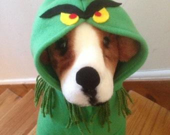 Grinch costume by FiercePetFashion