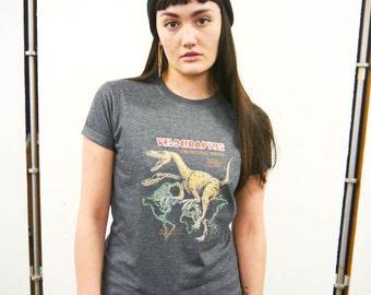 Velociraptor Dinosaur t-shirt, Dinosaur top, Dinosaur tee, Dinosaur shirt, Pre-historic, Dinosaurs, Jurassic, Wildlife,New