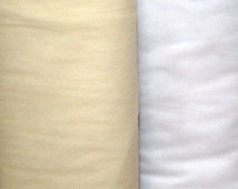 New, 108 Inch Nylon Tulle Illusion in White or Ivory for Bridal, Wedding, Costumes, Other Craft Projects, BY the YARD, Very Pretty!
