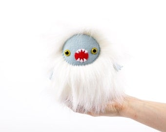 Whitey Handmade Soft Toy Plushie