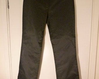 Like New Black Genuine Prada Pants