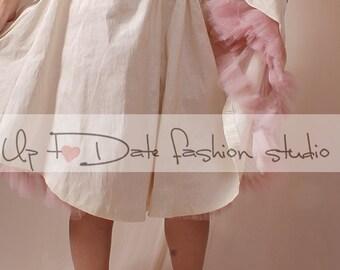 "Classic 22""-25"" Organza Net Mesh Tulle Petticoat"