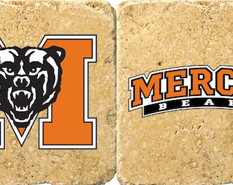 Mercer Bears Coaster Set