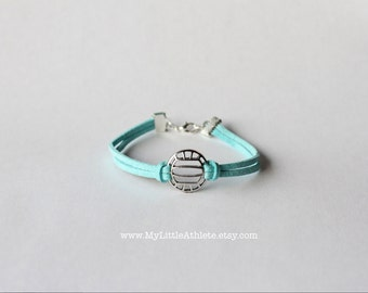 Volleyball Jewelry, Volleyball Bracelet, Volleyball Gift