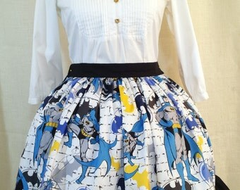 Lolita Skirt Made From Batman Fabric