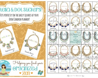 Instant Download! Stella & Dot stickers for your Planner