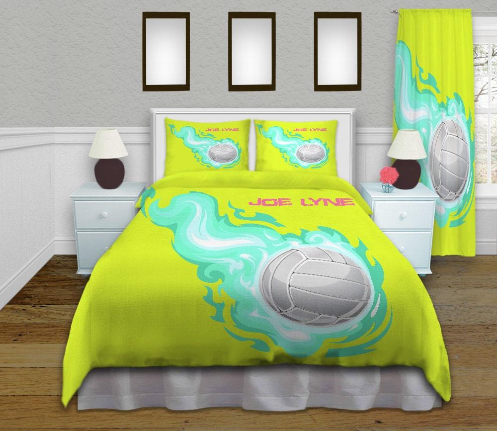 k nig gr e bettbezug m dchen volleyball bettw sche kinder. Black Bedroom Furniture Sets. Home Design Ideas