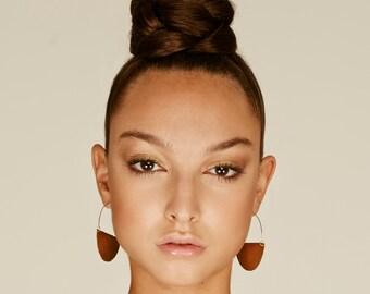 African earrings, Crescent hoops, ethnic earrings, tribal earring, Hoop African earrings, Hoop earrings, tribal earrings, tribal earrings