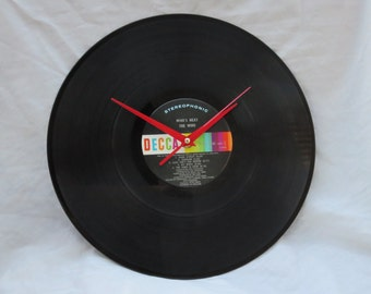 The Who Vinyl Record Wall Clock