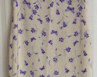 Escada 100% Silk Spring Dress - Size 38