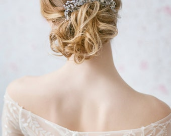 Wedding Hair Accessories, Wedding Hair Comb, Wedding Headpiece, Wedding Hair Piece, Bridal Hair Comb, Opal Crystal Comb