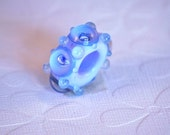 Dread Bead | Handmade | Glow In The Dark | Glass Dread Bead | Dreadlock Accessories | Handmade Glass Dread Bead | Glows in the Dark!