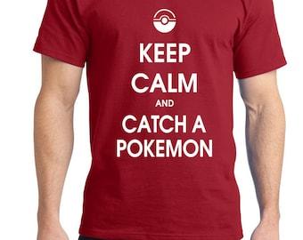 Keep calm and catch a pokemonTee Shirt