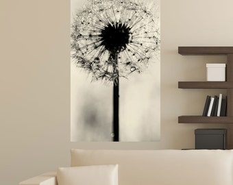 Dandelion Photography Floral Art Wall Sticker Decal -  Simply Dandy by Ingrid Beddoes