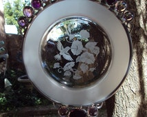 Avon Hummingbird Plate Suncatcher