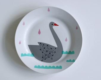 Swan plate #4
