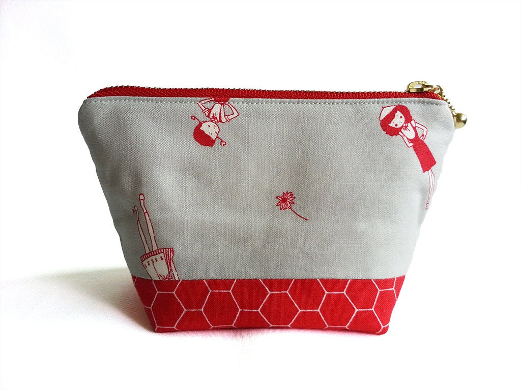 Zipper Pouch Small Pouch Cosmetic Bag Small Cute Makeup