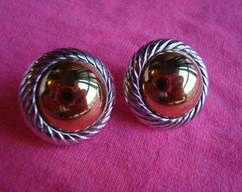 Beautiful Vintage Earrings Pierced Ears