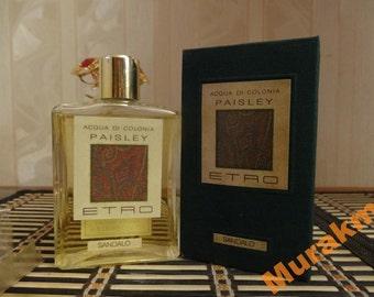 Paisley Etro for men 125ml. Cologne Vintage Rare