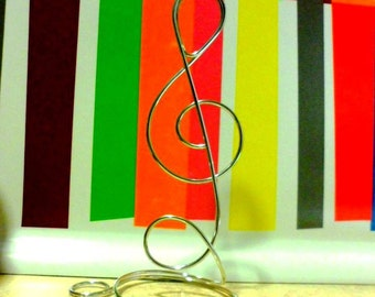 Treble Clef Table Place Card Holders 4pcs