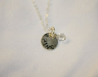 """Sterling Silver """"Shine"""" Necklace"""
