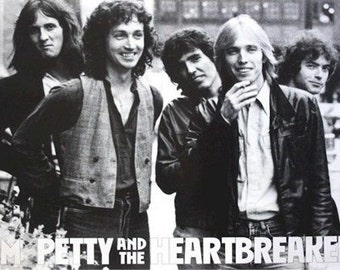 Tom Petty and the Heartbreakers Rare Poster