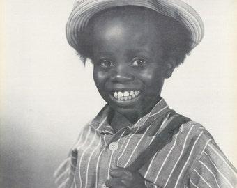 The Little Rascals Buckwheat O'Tay  B/W Rare Poster