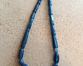 Chunky Graduated Bead Necklace