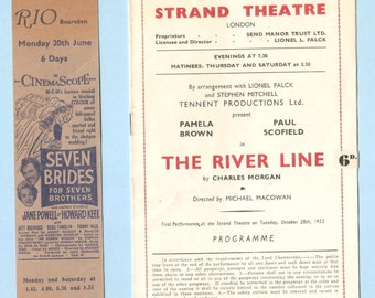 Vintage Theatre and entertainment ephemera