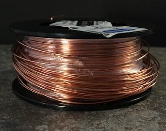Dead Soft 16, Copper Wire, 16 Gauge Round Wire, Dead Soft