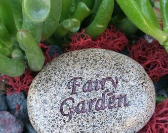 Fairy Garden Rock