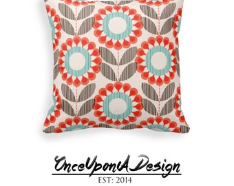 Decorative Floral Throw Pillow, Living Room Home Decor, Decor for the Bedroom, Decorative Throw Pillow