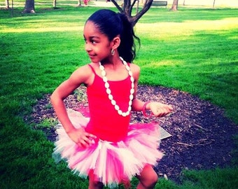 Red and White Tutu