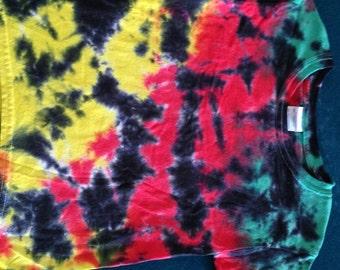 Handmade Tie Dye shirt Custom CRUSH FREE SHIPPING tye die