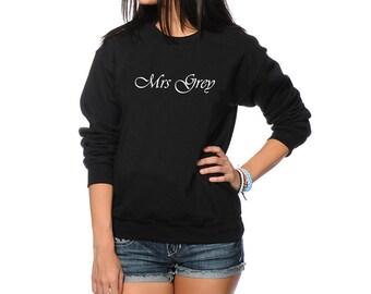 Mrs Grey Women's Jumper - Fifty Shades - Valentine's Day Sweatshirt