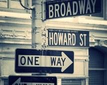 New York print, New York Photo, Broadway print, Black and White print, New York Decor, Broadway Decor,USA Print, New York Gift, New York Art