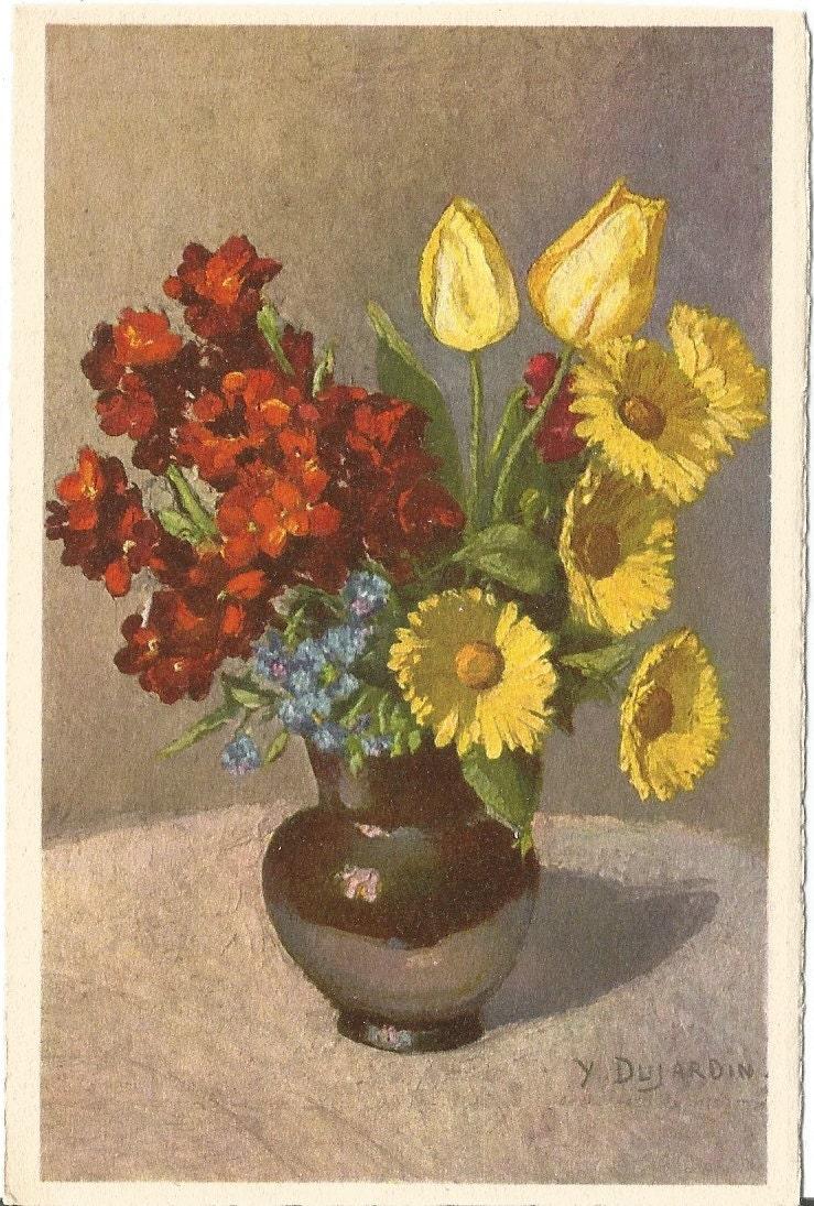 Flower bouquet by y dujardin edition stehli for Edition dujardin