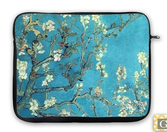 Van Gogh Branch Almond Blossoms iPad Case, Laptop Bag, Laptop Sleeve, Laptop Case, iPad Sleeve, MacBook Case, Tablet Case - Almond Blossoms