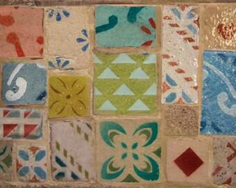 Hand-decorated TILES ceramic TILES