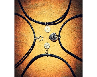 Handmade Choker Necklaces (small charms)