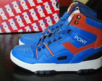 PONY M 100 Leather Retro Basketball sneakers- EU 39 US 6.5